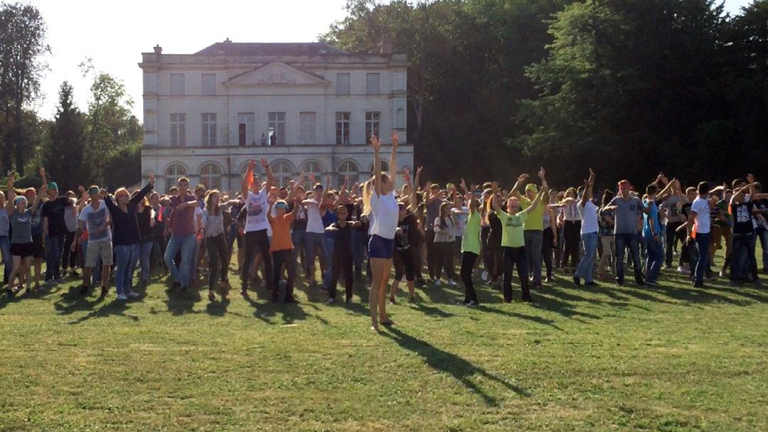 Chorégraphie et animation d'un flashmob pour le CNEAP à Troyes