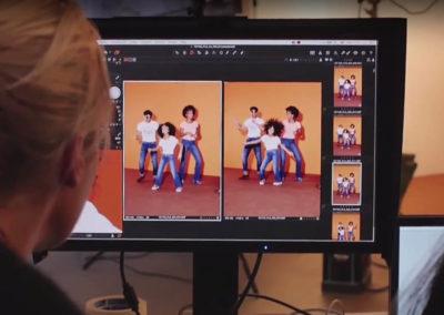 Direction artistique des campagnes de publicités de La Halle aux Vêtements