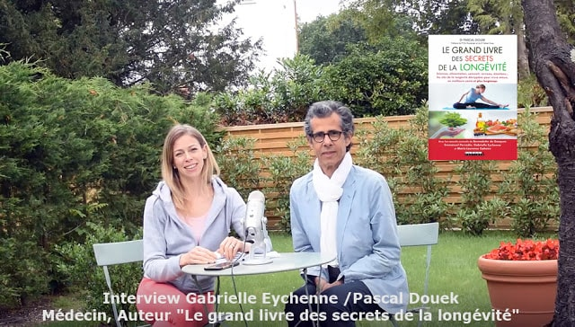 Collaboration avec Pascal Douek – Le Livre des Grands Secrets de la Longévité