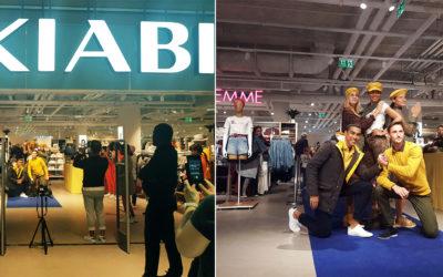 Défilé inauguration magasin Kiabi